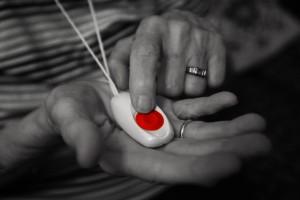 κόκκινο κουμπί...